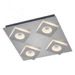 EEK A+, LED-Deckenleuchte Easley I - Acrylglas / Metall - 4-flammig, Trio