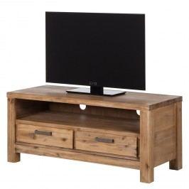 TV-Lowboard Toumanar I - Akazie teilmassiv - Akazie Sand, Ars Natura