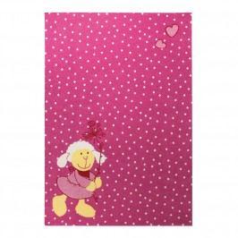 Kinderteppich Schnuggi - Pink - 80 x 150 cm, Sigikid