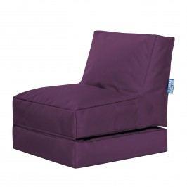 Sitzsack Twist Scuba - Flachgewebe - Lipstick Pink, SITTING POINT