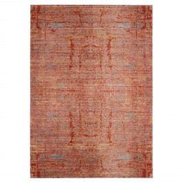 Teppich Abella Vintage - Kunstfaser - Rot / Beige - 68 x 243 cm, Safavieh