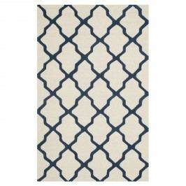 Teppich Ava - Beige / Blau - 152 x 243 cm, Safavieh