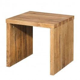 Nachttisch Morton - Sumpfeiche massiv, Neue Modular