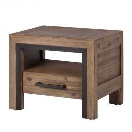 Nachttisch CINQUE - Massivholz Akazie, ars manufacti