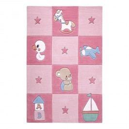 Babyteppich Newborn - Pink - 150 x 220 cm, SMART KIDS