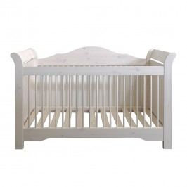 Kinderbett Karlotta - White Washed, Steens