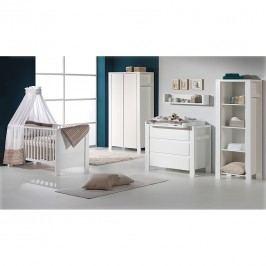 Babyzimmer Milano - Weiß - mit 3-trg. Schrank, Schardt