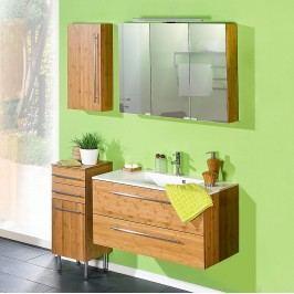 EEK A+, Badezimmerset Bern - Bambus natur lackiert 4er-Set, Schildmeyer