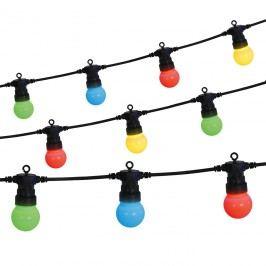 EEK A+, LED-Lichterkette bunt 7,5m - Multicolor Kunststoff, Näve