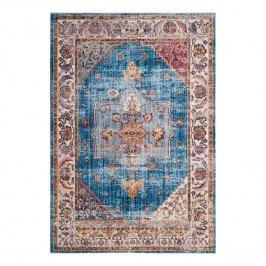 Vintage-Teppich Taavi - Kunstfaser - Marineblau / Creme - 154 x 228 cm, Safavieh