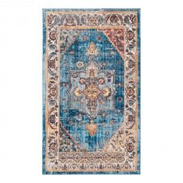 Vintage-Teppich Taavi - Kunstfaser - Marineblau / Creme - 121 x 182 cm, Safavieh