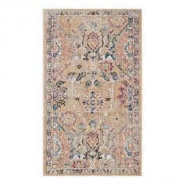Vintage-Teppich Adalicia - Kunstfaser - Camel / Marineblau - 121 x 182 cm, Safavieh