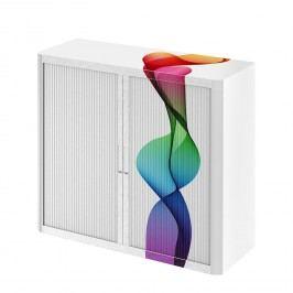 Aktenschrank easyOffice Abstrait II - Mehrfarbig - 104 cm, easy Office und Paperflow
