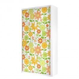 Rollladenschrank easyOffice Papier Peints II - Mehrfarbig - 204 cm, easy Office und Paperflow