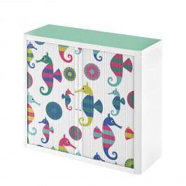 Rollladenschrank easyOffice Enfants IX - Mehrfarbig - 104 cm, easy Office und Paperflow