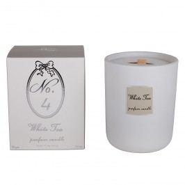 Duftkerze White Tea - Wachs / Glas - Weiß, Jack and Alice