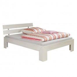 Futonbett Jasmin - Kein Bettkasten - White Washed, Relita