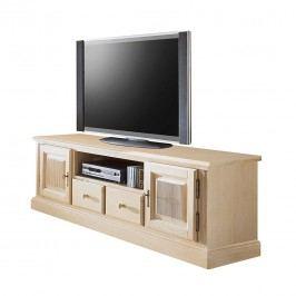 TV Lowboard Breddin II - Pinie massiv, Ars Natura