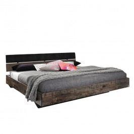 Bett Sumatra - 140 x 200cm - Dunkelbraun / Braun, Rauch Select