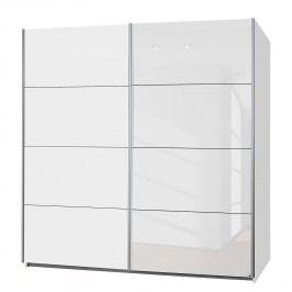 Schwebetürenschrank Subito-Color - Weiß - 136 cm (2-türig), Rauch Packs