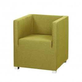Sessel Carmen - Webstoff Grün, mooved