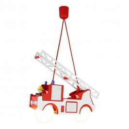 EEK A++, Pendelleuchte Feuerwehr - Holz - 2-flammig, Elobra