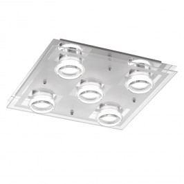 EEK A+, LED-Deckenleuchte Moody - Metall / Acrylglas - 5, Action