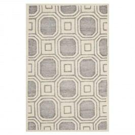 Teppich Lolita - Beige / Grau - 91 x 152 cm, Safavieh