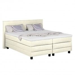 Boxspringbett Splendid Night - 140 x 200cm - H3 ab 80 kg - Ecru, Grand Selection