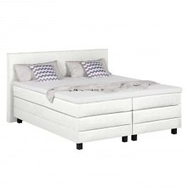 Boxspringbett Splendid Night - 160 x 200cm - H3 ab 80 kg - Weiß, Grand Selection