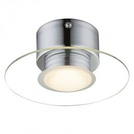 EEK A+, LED-Wandleuchte Parda I - Glas / Stahl - 1-flammig, Globo Lighting