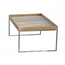 Pizzo Outdoor Teak - Gestell Edelstahl - 110x60 cm