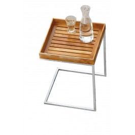 Pizzo Outdoor Teak - Gestell feuerverzinkt - 40x40 cm