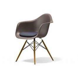 DAW mit Sitzpolster - grau - Sitzhöhe 46 cm
