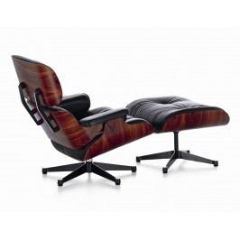 Lounge Chair & Ottoman - XL - Palisander/braun