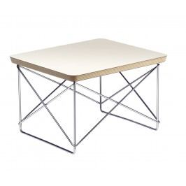 Occasional Table LTR - weiss - Gestell chrom