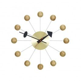 Ball Clock - Kirschholz natur