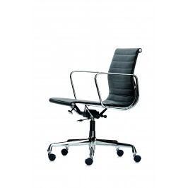 Aluminium Chair - EA 117 - Hopsak - 96 rot/cognac