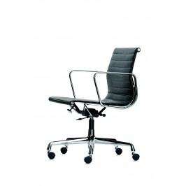 Aluminium Chair - EA 117 - Hopsak - 91 chocolate/grau