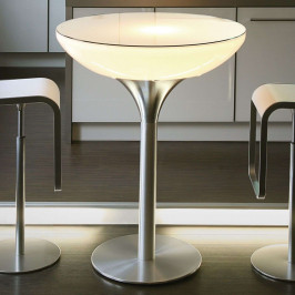 Leuchttisch Lounge Table LED Pro Accu H 105 cm