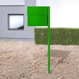 Briefkasten Letterman XXLII Pfosten, grün
