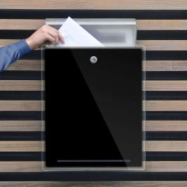 Briefkasten Letterman lII, schwarz