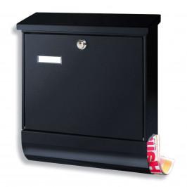 Beliebter Briefkasten SET VARIO, schwarz