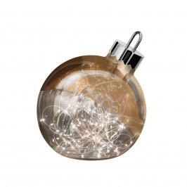 Dekoleuchte Ornament, kupfer, Ø 20 cm
