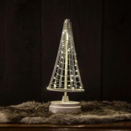 Baum Santa's Tree, Draht silber Höhe 26 cm