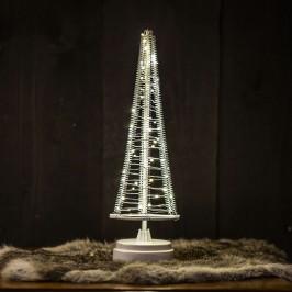Baum Santa's Tree, Draht silber, Höhe 33,5 cm