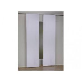 Schiebevorhang Phaseli, weiß, ca. 60 x 245 cm