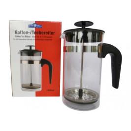 Kaffee-/Teebereiter Glas