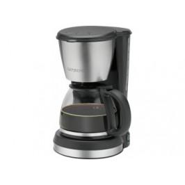 Clatronic Kaffeeautomat KA 3562 schwarz/silber