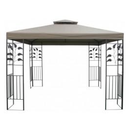 Pavillon Ranke ca. 300x300 cm taupe